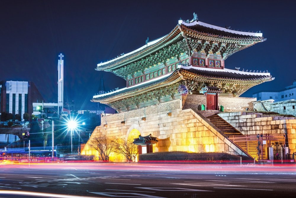 Dongdaemun Gate in Seoul